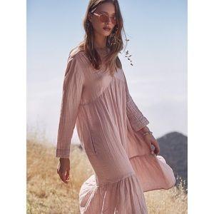XiRENA Daytona Dress Blush Pink Cotton